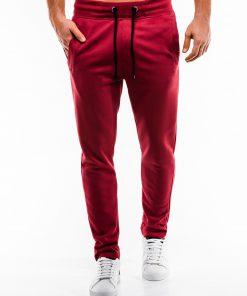 Raudonos sportines kelnes vyrams internetu pigiau P866 14291-3