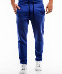 Mėlynos sportinės kelnės vyrams internetu pigiau P866 14292