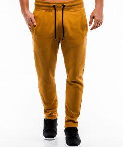 Geltonos sportines kelnes vyrams internetu pigiau P866 14296-1