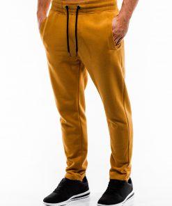 Geltonos sportinės kelnės vyrams internetu pigiau P866 14296