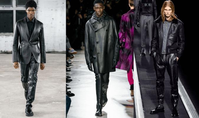 Eko odos drabužiai vyrams Alyx, Berluti, Dior Homme