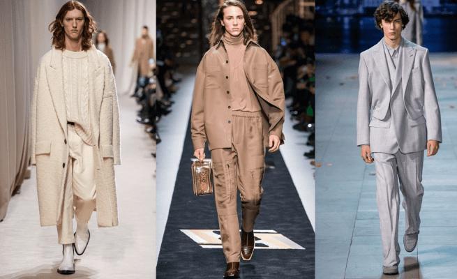 Vienspalviai vyriški rūbai: Ami, Fendi, Louis Vuitton