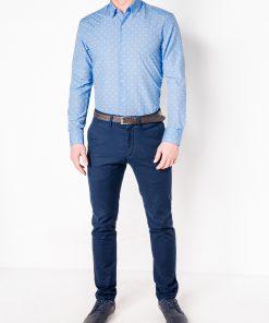 Vyriški marškiniai ilgomis rankovėmis internetu pigiau K463 11492-2