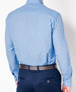 Marškiniai vyrams ilgomis rankovėmis internetu pigiau K463 11492-4