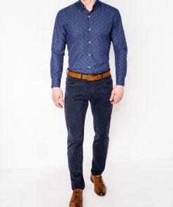 Vyriški marškiniai ilgomis rankovėmis internetu pigiau K463 11493-2
