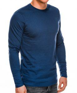 Mėlynos spalvos vyriški marškinėliai ilgomis rankovėmis internetu pigiau L118 14300