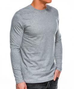 Marškinėliai vyrams ilgomis rankovėmis internetu pigiau L118 14301-4
