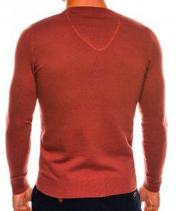 Rudas megztinis vyrams internetu pigiau Ombre E74 14324-3