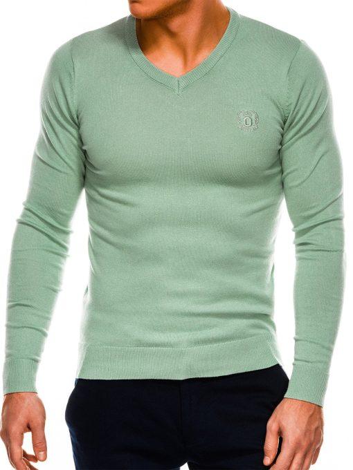 Mėtinis vyriškas megztinis internetu pigiau Ombre E74 14326-3