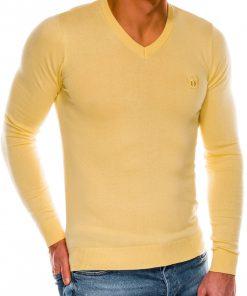 Geltonas megztinis vyrams internetu pigiau Ombre E74 14327-4