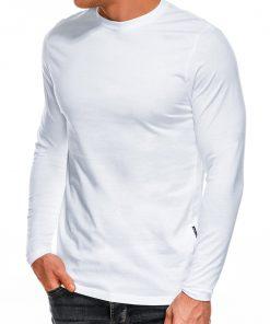 Balti vyriški marškinėliai ilgomis rankovėmis internetu pgiau L118 14331-1