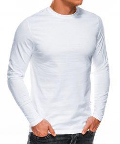 Baltos spalvos vyriški marškinėliai ilgomis rankovėmis internetu pgiau L118 14331