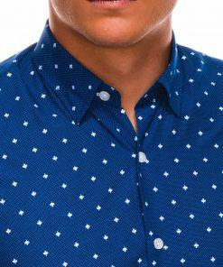 Marškiniai vyrams ilgomis rankovėmis internetu pigiau K463 11494-5