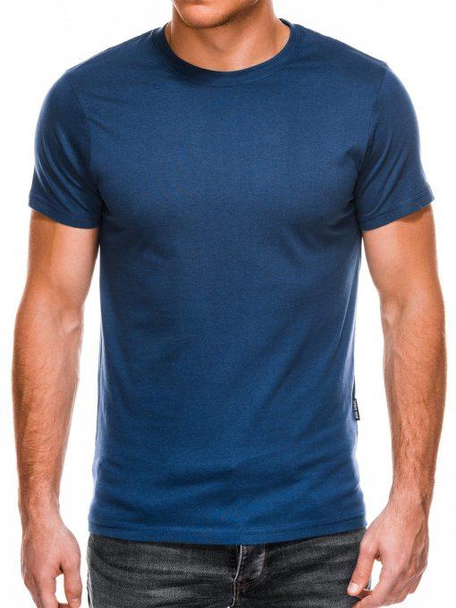 Vienspalviai tamsiai žydri marškinėliai vyrams internetu pigiau Lak S884 11603