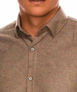 Stilingi vyriški marškiniai ilgomis rankovėmis internetu pigiau K512 14345-3