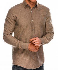 Marškiniai vyrams ilgomis rankovėmis internetu pigiau K512 14345-4