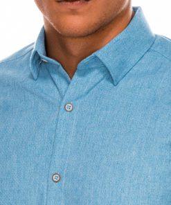 Vyriški marškiniai ilgomis rankovėmis internetu pigiau K512 14346-2