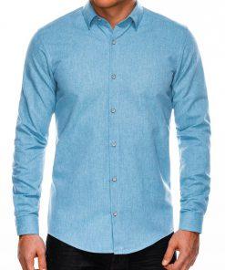 Marškiniai vyrams ilgomis rankovėmis internetu pigiau K512 14346-6