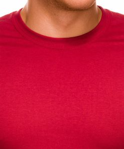 Raudoni marskineliai vyrams internetu pigiau Lak S884 7576-2