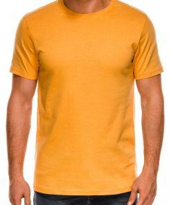Vienspalviai geltoni vyriški marškinėliai internetu pigiau Lak S884 7580