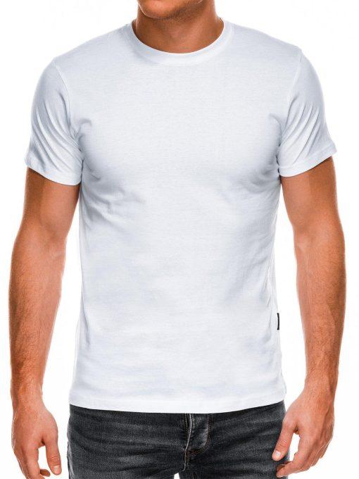 Balti marškinėliai vyrams internetu pigiau Lak S884 7583-1