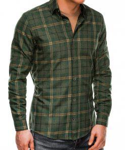 Chakilanguoti vyriški marškiniai ilgomis rankovėmis internetu pigiau K511 14342