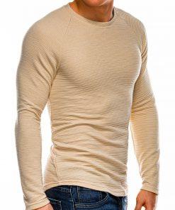 Rusvas vyriškas megztinis internetu pigiau B1021 14356