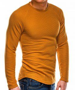 Garstyčių spalvos vyriškas megztinis internetu pigiau B1021 14359