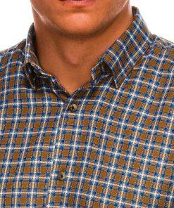 Languoti marškiniai vyrams internetu pigiau K520 14442-5