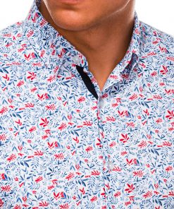 Stilingi vyriški marškiniai ilgomis rankovėmis internetu pigiau K525 14448-5