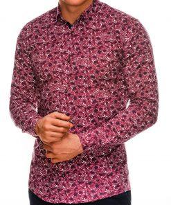 Marginti vyriški marškiniai ilgomis rankovėmis internetu pigiau K525 14449-4