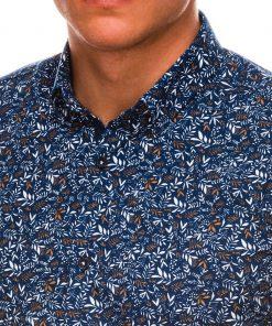 Stilingi vyriški marškiniai ilgomis rankovėmis internetu pigiau K525 14450-4