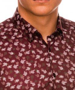 Stilingi vyriški marškiniai ilgomis rankovėmis internetu pigiau K518 14452-2