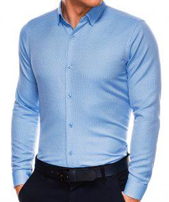 Stilingi vyriški marškiniai ilgomis rankovėmis internetu pigiau K527 14461