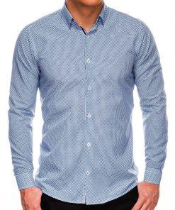Stilingi vyriški marškiniai ilgomis rankovėmis internetu pigiau K535 14464