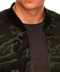 Kamufliažinis vyriškas džemperis Bomber internetu pigiau B1028 14476-2