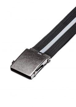 Juodas medžiaginis diržas vyrams internetu pigiau A064 14493-2