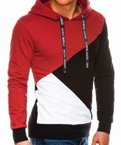 Vyriškas džemperis su gobtuvu internetu pigiau B1050 14497-1