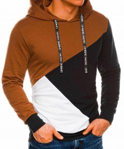 Vyriškas džemperis su gobtuvu internetu pigiau B1050 14499-1