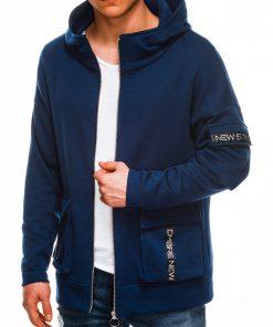 Vyriškas džemperis su gobtuvu internetu pigiau B1049 14502-1