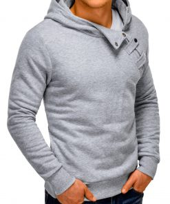 Vyriškas džemperis su gobtuvu internetu pigiau Paco 148-5