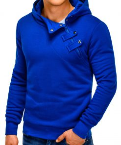 Stilingas mėlynas džemperis vyrams internetu pigiau Paco 155-3