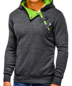 Vyriškas džemperis su gobtuvu internetu pigiau PACO 178-3