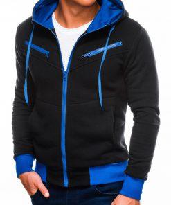 Juodas džemperis vyrams internetu pigiau Amigo B522 219