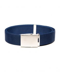Mėlynas medžiaginis vyriškas diržas internetu pigiau A029 5133-1