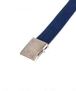Mėlynas medžiaginis diržas vyrams internetu pigiau A029 5133-2
