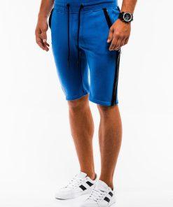 Mėlynosspalvos sportiniai šortai vyrams internetu pigiau W054 9125