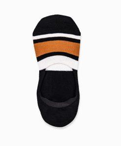 Nematomos trumpos juodos kojinės vyrams internetu pigiau U79 14550-1