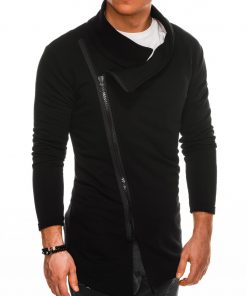 Stilingas juodas vyriškas džemperis internetu pigiau B1051 14588-3