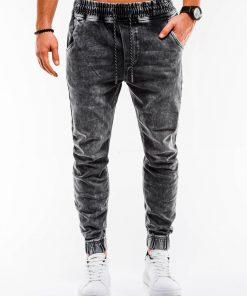 Pilki vyriški džinsai internetu pigiau P907 14662-1